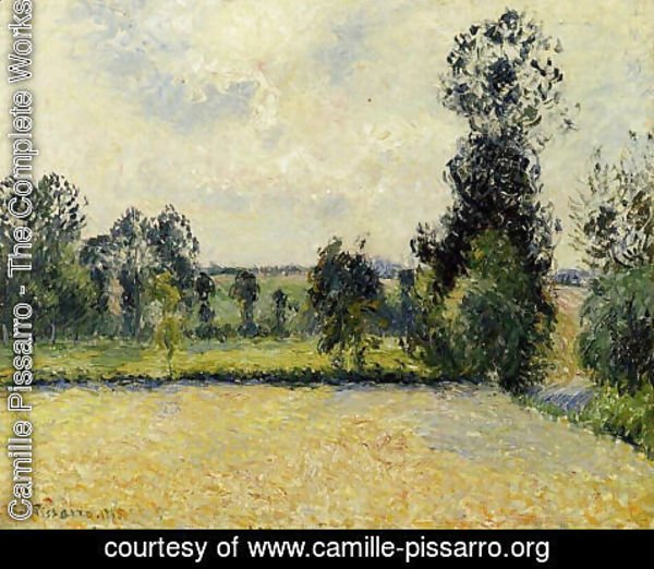 Camille Pissarro - Field of Oats in Eragny