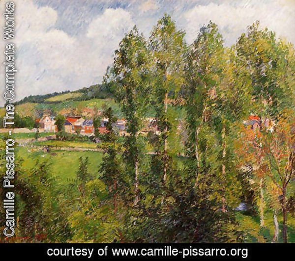 Camille Pissarro - Gizors, New Section