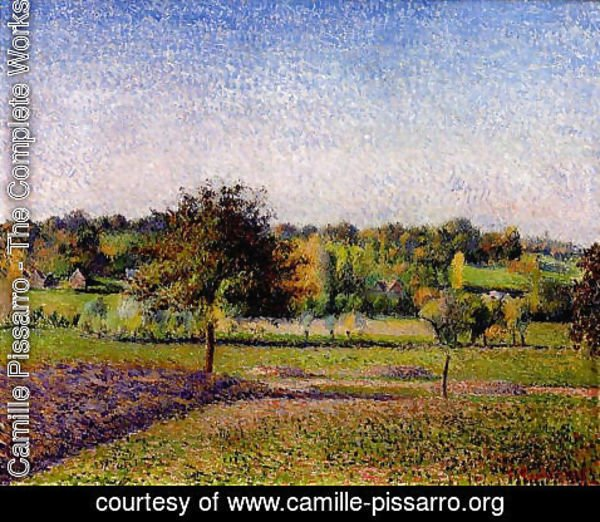 Camille Pissarro - Meadows at Eragny