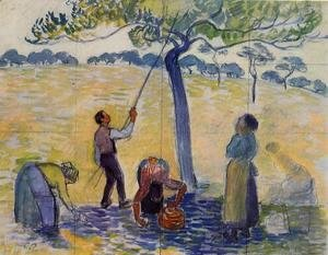 Camille Pissarro - Picking Apples