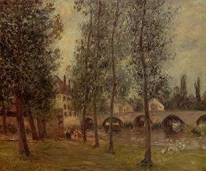 Camille Pissarro - The Moret Bridge