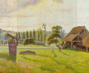 Camille Pissarro - Brickworks at Eragny