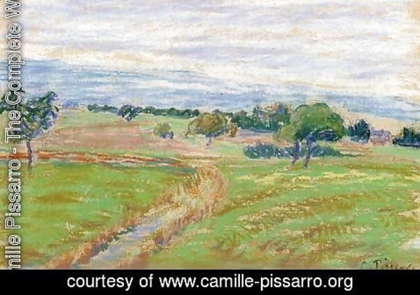 Camille Pissarro - The Hills of Thierceville