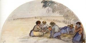 Camille Pissarro - The Picnic