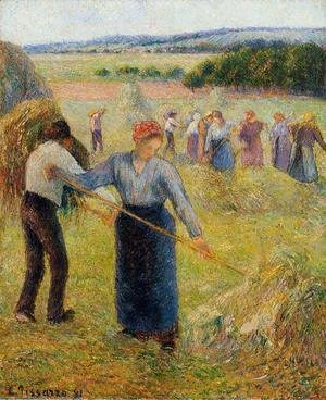 Haymaking at Eragny