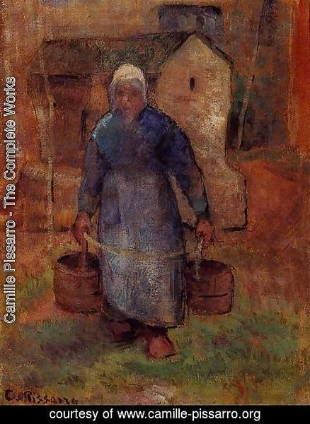 Camille Pissarro - Woman with Buckets
