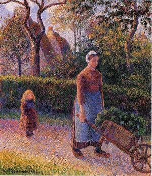 Camille Pissarro - Woman with a Wheelbarrow