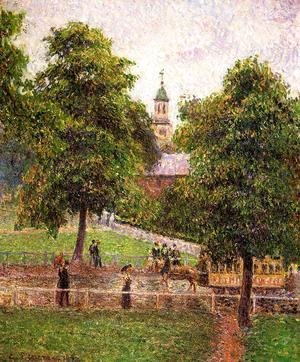 Camille Pissarro - Church at Kew