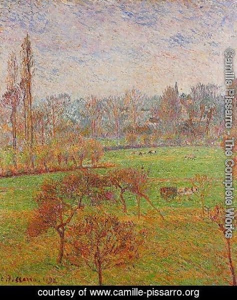 Camille Pissarro - Morning, Autumn, Efagny