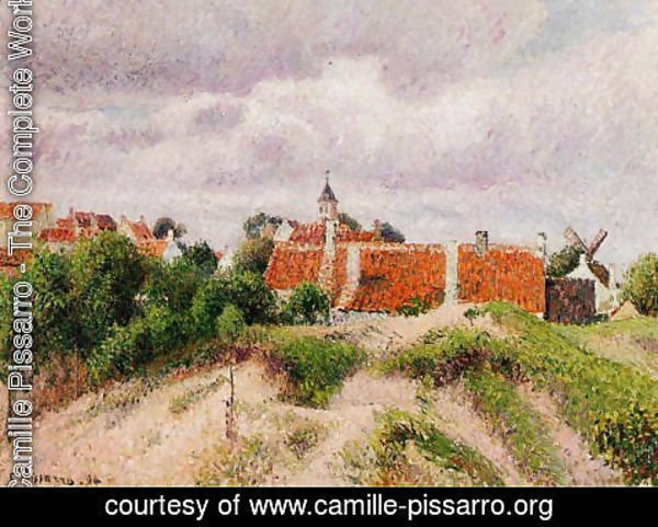 Camille Pissarro - The Village of Knocke, Belgium