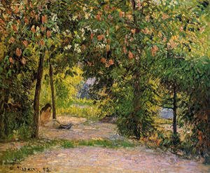 The Garden in Spring, Eragny
