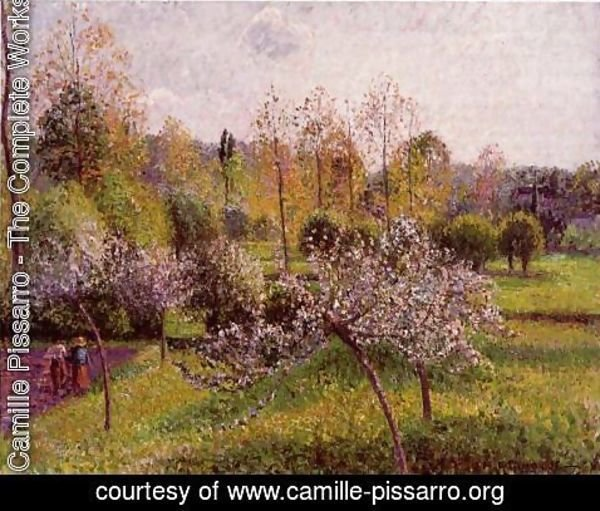 Camille Pissarro - Flowering Apple Trees, Eragny