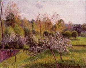 Flowering Apple Trees, Eragny