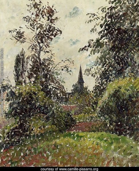 The Bazincourt Steeple (study)