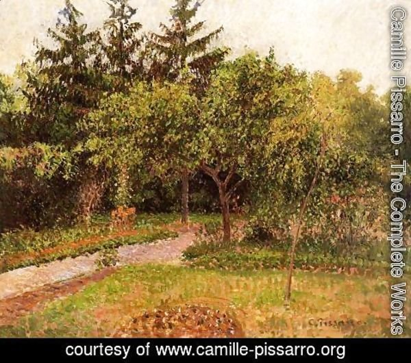 Camille Pissarro - The Garden at Eragny