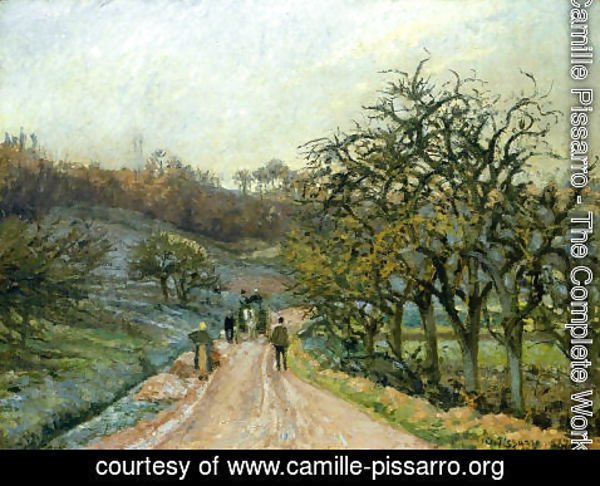 Camille Pissarro - Lane of Apple Trees near Osny, Pontoise