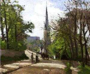 Camille Pissarro - St. Stephen's Church, Lower Norwood