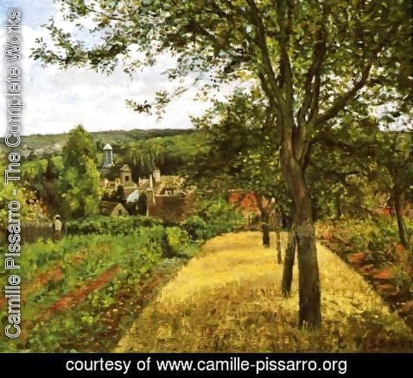 Camille Pissarro - Orchards at Louveciennes