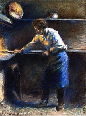 Camille Pissarro - Eugene Murer at His Pastry Oven