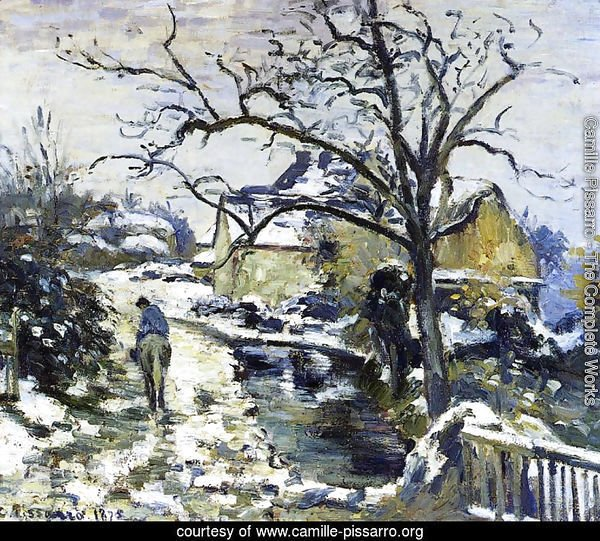 Winter at Montfoucault I