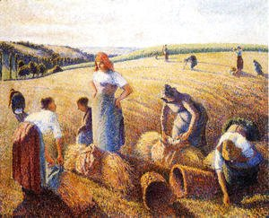 Camille Pissarro - The Gleaners