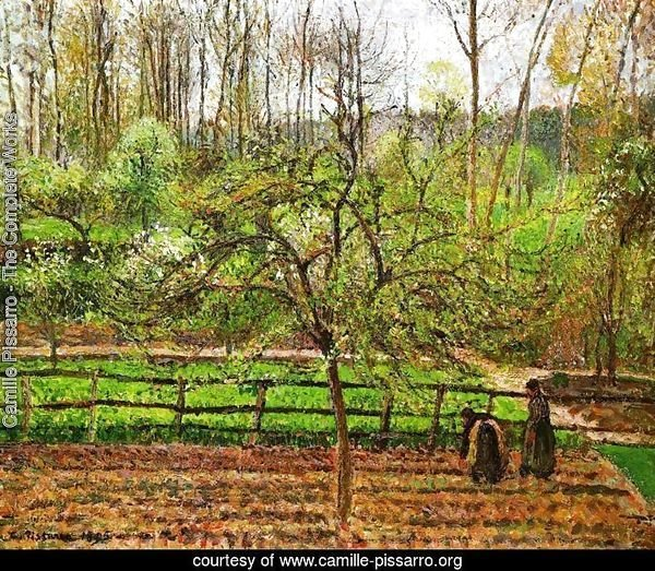 Spring, Gray Weather, Eragny