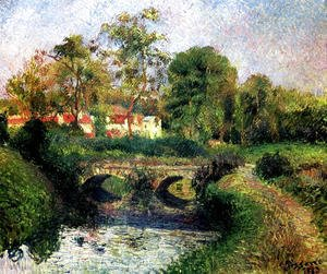 Camille Pissarro - Little Bridge on the Voisne, Osny