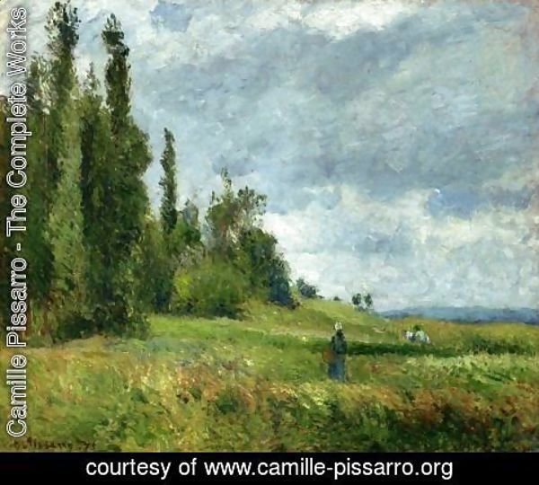 Camille Pissarro - The Petit Bras of the Seine at Argenteuil