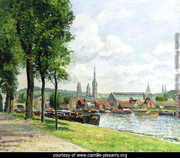 The Cours-la-Riene, The Notre-Dame Cathedral, Rouen