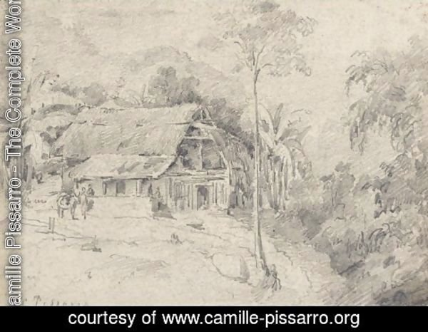 Camille Pissarro - Cottage in the Jungle