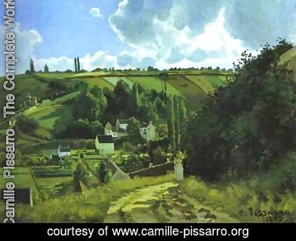 Camille Pissarro - Jallais Hill at Pontoise