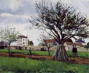 Camille Pissarro - Apple Trees at Pontoise (The Home of Pere Gallien)