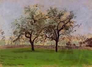 Camille Pissarro - Apple Trees at Pontoise 2