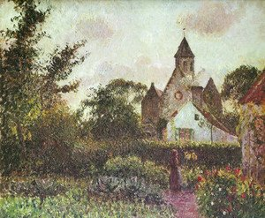 Camille Pissarro - Knocke church
