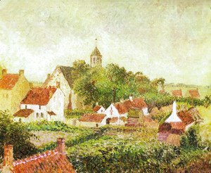 Camille Pissarro - Landscape from my window