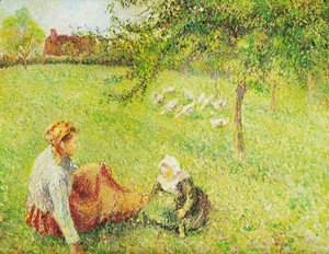Camille Pissarro - oak guardians