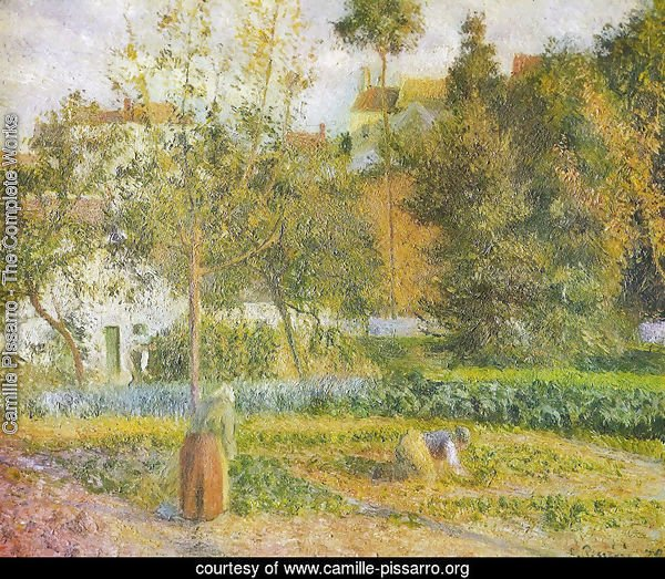 Orchard at L'Hermitage, Pontoise