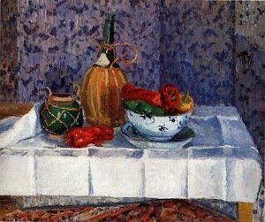 Camille Pissarro - Still Life with Spanish Peppers