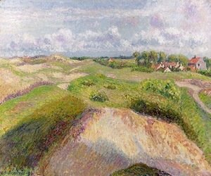 Camille Pissarro - The Dunes at Knocke, Belgium 1