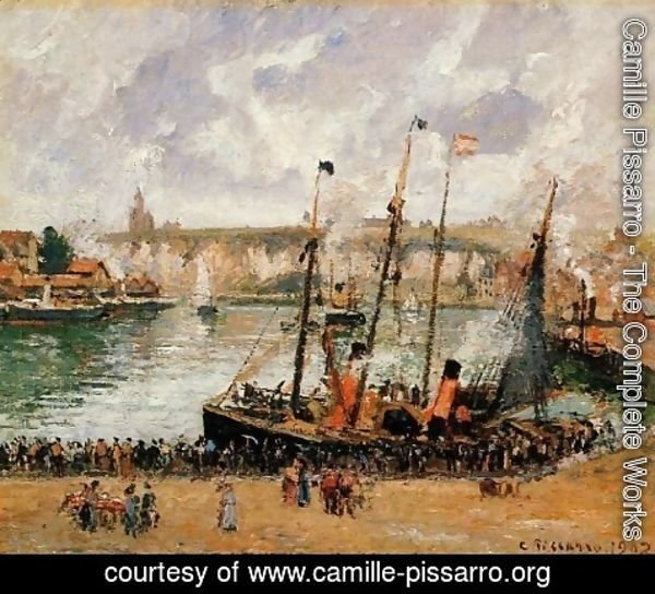 Camille Pissarro - The Inner Harbor, Dieppe 2