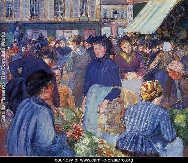 The Market at Gisors 1