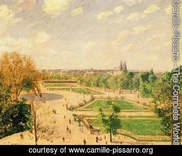 Camille Pissarro - The Tuileries Gardens 2