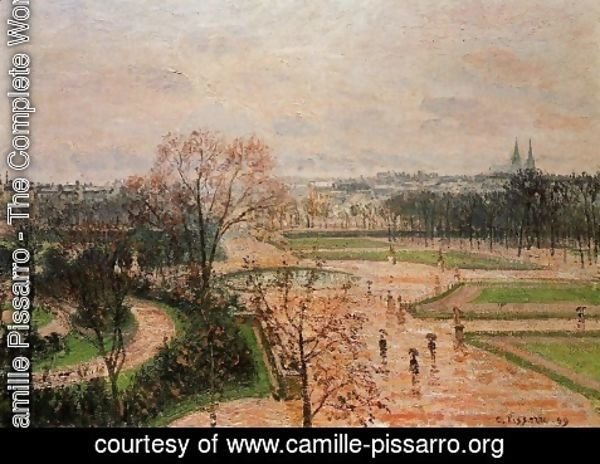 Camille Pissarro - The Tuileries Gardens 3