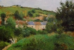 Camille Pissarro - The Village Pathway