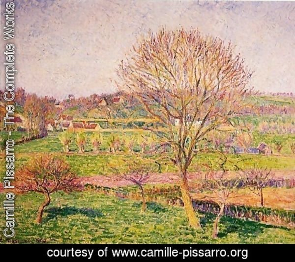 Camille Pissarro - Tree Tree at Eragny