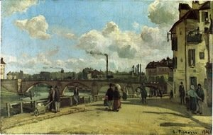 Camille Pissarro - View of Pontoise 2