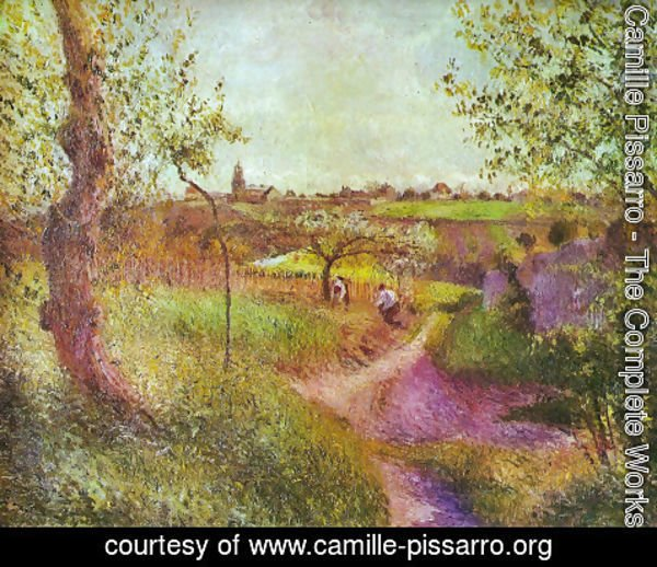Camille Pissarro - Way through the field