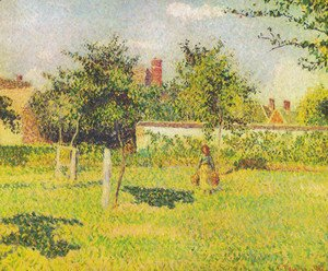 Camille Pissarro - Woman in the orchard