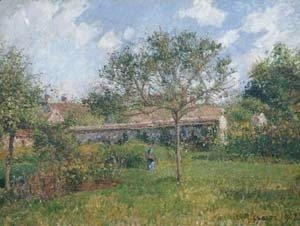 A Corner of the Meadow at Eragny 1902