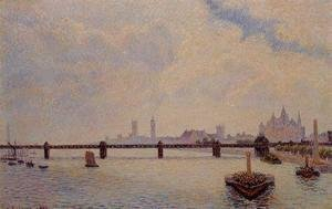Camille Pissarro - Charing Cross Bridge London  1890